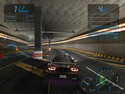 второй скриншот из Need for Speed: Underground - HD Textures