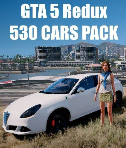 GTA 5 Redux 530 CARS PACK