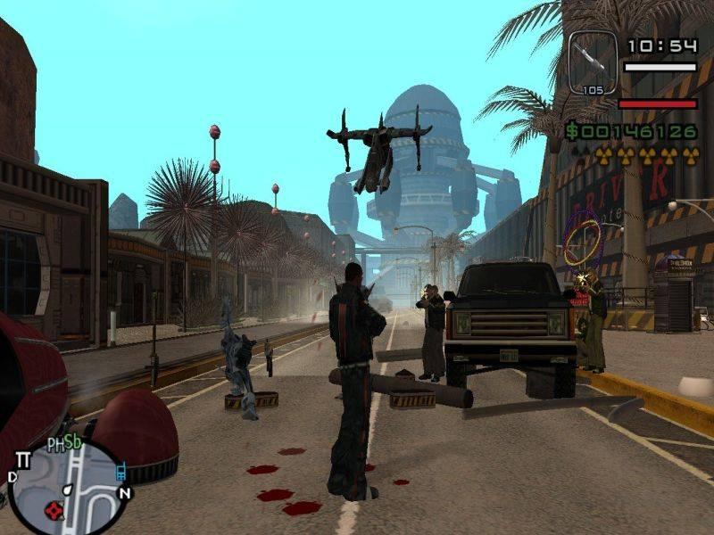 Gta alien city anderius torrent для gta san andreas скачать.