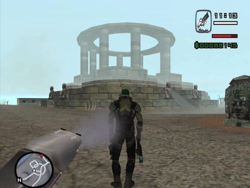 Истребитель из alien city для gta san andreas скачать моды.