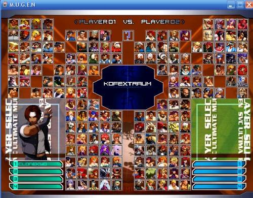 M.U.G.E.N - King Of Fighters Unlimited Match Extra Plus M.U.G.E.N.