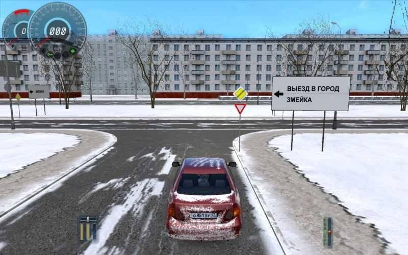 3d симулятор зима скачать