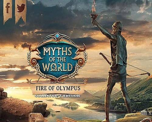 Обложка Myths of the World 12. Fire of Olympus Collectors Edition