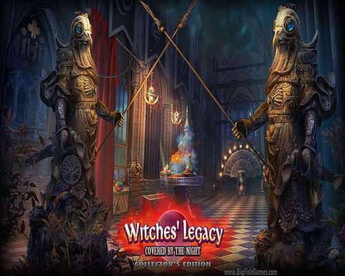 Обложка Witches' Legacy 10. Covered By The Night Collector's Edition