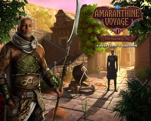 Amaranthine Voyage 8. The Burning Sky Collectors Edition