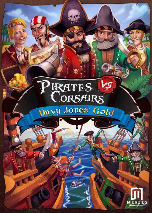 Pirates vs Corsairs: Davy Jones' Gold