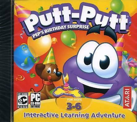 Putt-Putt: Pep's Birthday Surprise / Putt-Putt: Сюрприз для Пепа