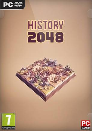 Обложка History2048 - 3D puzzle number game