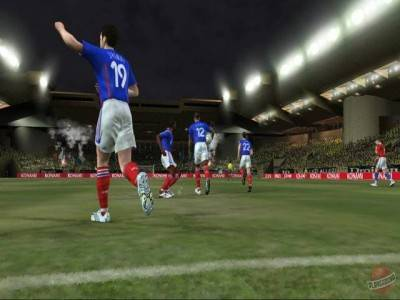 второй скриншот из Pro Evolution Soccer 6 / Winning Eleven: Pro Evolution Soccer 2007 / Winning Eleven 10
