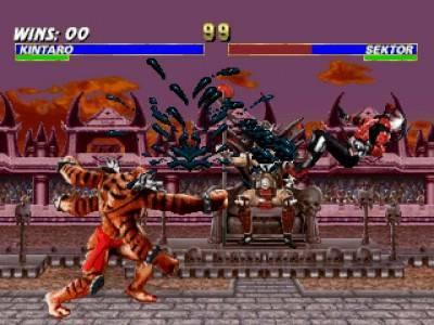 второй скриншот из Mortal Kombat Trilogy