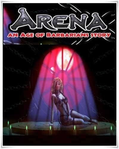 Обложка ARENA an Age of Barbarians story