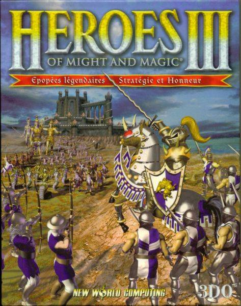 Обложка Heroes of Might and Magic III и Heroes Chronicles