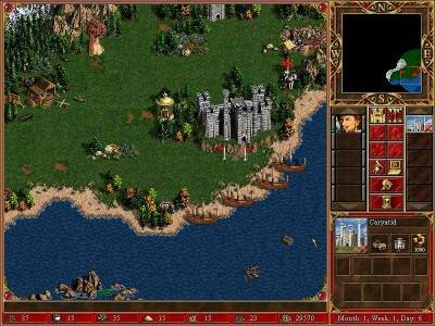 третий скриншот из Heroes of Might and Magic III и Heroes Chronicles
