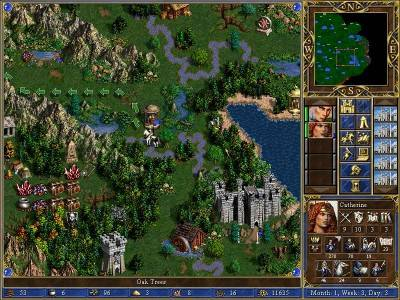 второй скриншот из Heroes of Might and Magic III и Heroes Chronicles