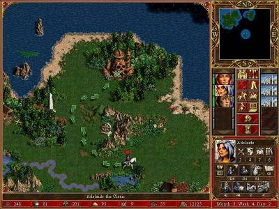 первый скриншот из Heroes of Might and Magic III и Heroes Chronicles