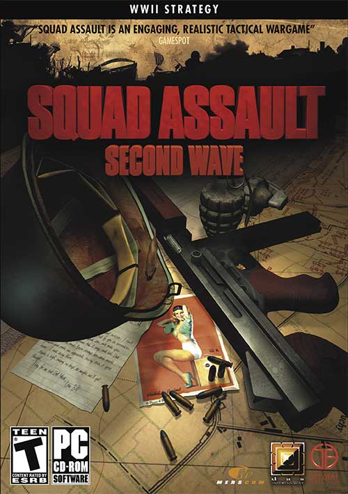 Обложка Eric Young's Squad Assault: Second Wave