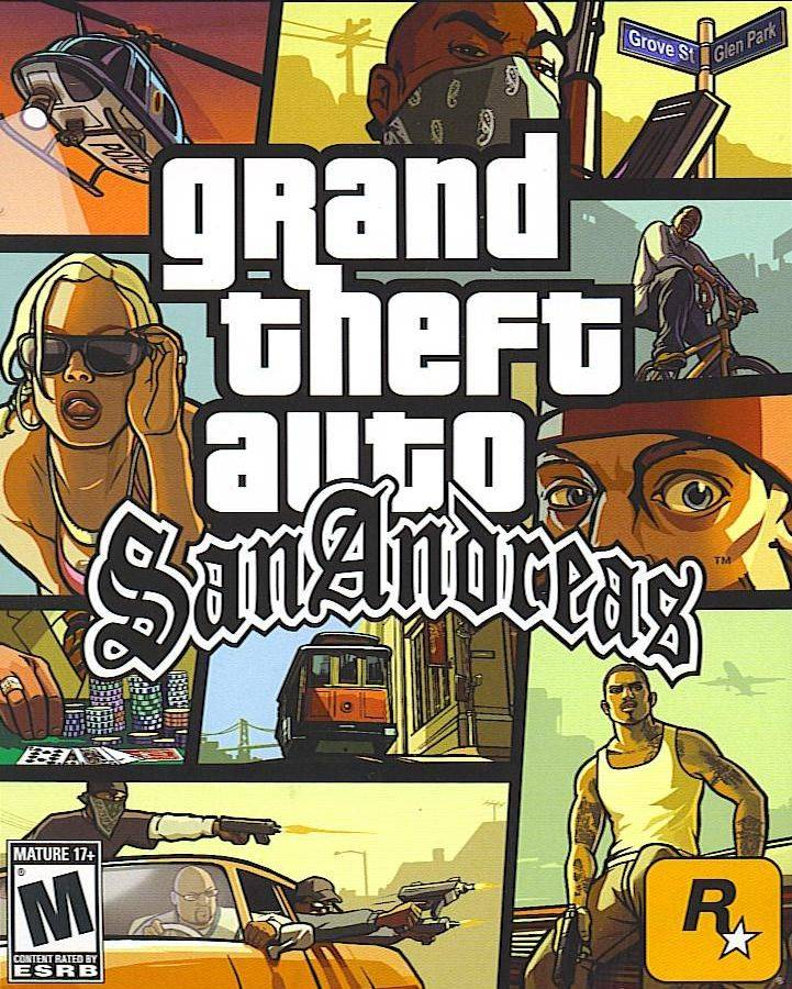 Grand Theft Auto San Andreas AS Edition 2017