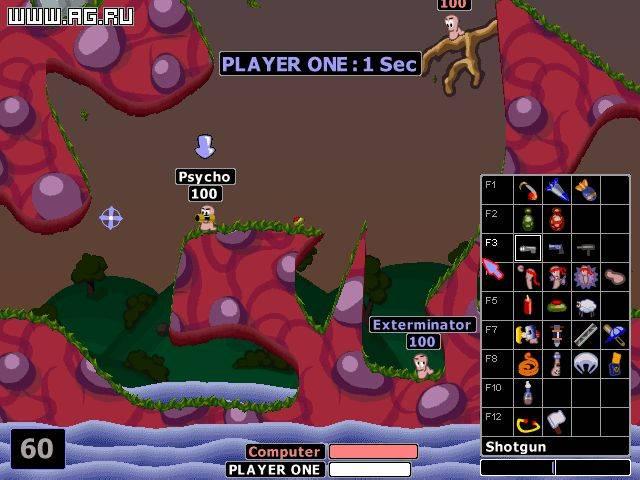 скачать игру Worms на 2 на компьютер через торрент - фото 7