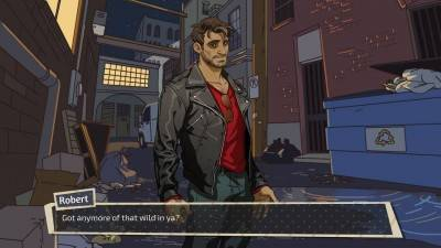 второй скриншот из Dream Daddy: A Dad Dating Simulator