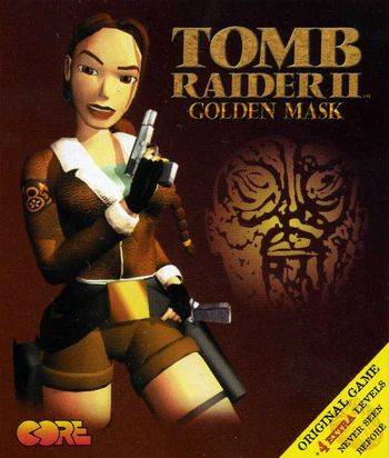 Обложка Tomb Raider 2: The Golden Mask