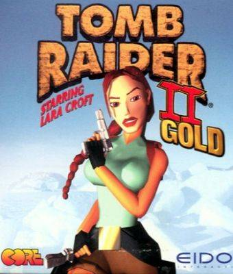 Обложка Tomb Raider II Starring Lara Croft Gold
