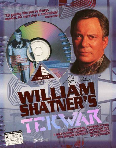 Обложка William Shatner's TekWar