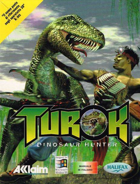 Turok: Dinosaur Hunter (3DFX Version)