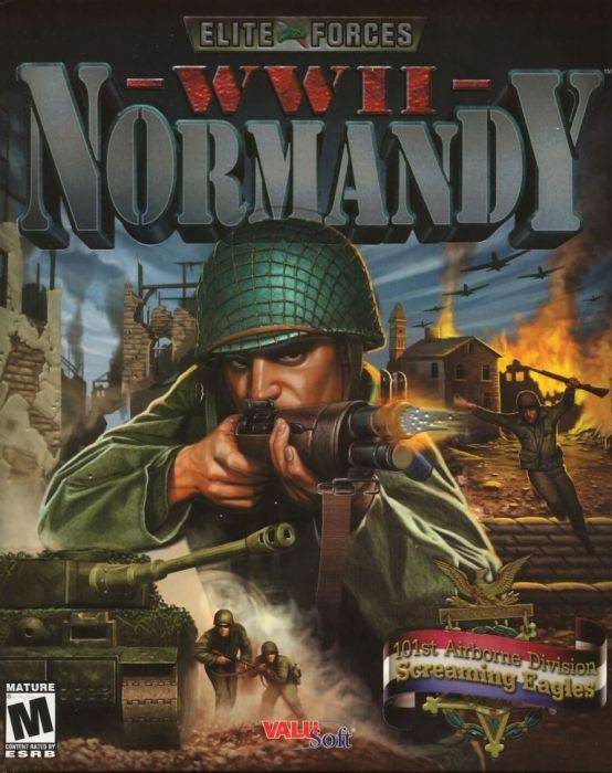 Обложка Elite Forces: WWII Normandy