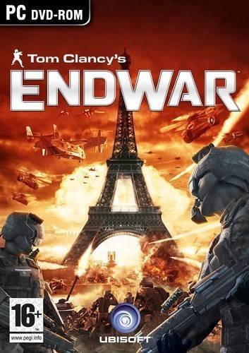 Обложка Tom Clancy's End War