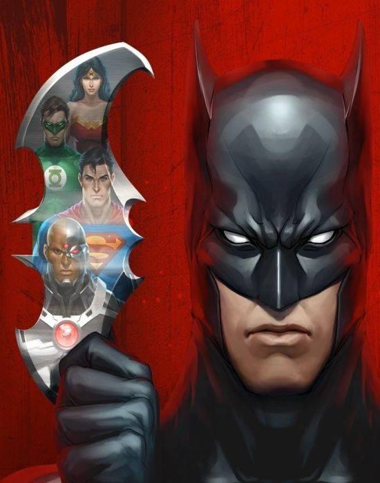 Обложка Batman DOOM