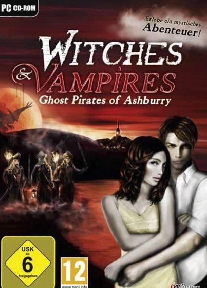 Обложка Witches And Vampires Ghost Pirates Of Ashburry