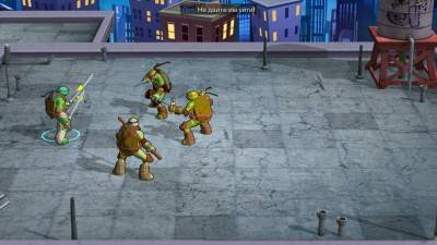 четвертый скриншот из Teenage Mutant Ninja Turtles: Portal Power