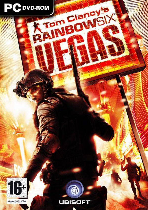 Обложка Tom Clancy's Rainbow Six: Vegas