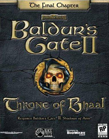 Baldur's Gate II: Throne of Bhaal + Shadows Of Amn