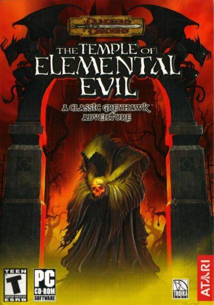 Обложка The Temple of Elemental Evil: A Classic Greyhawk Adventure