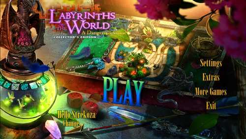Labyrinths of the World 7: A Dangerous Game Collectors Edition