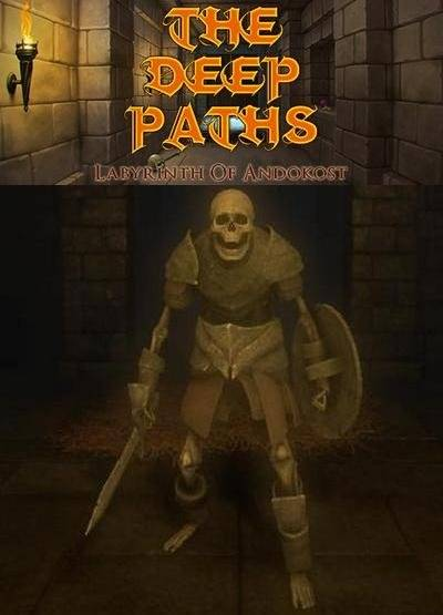 Обложка The Deep Paths: Labyrinth Of Andokost