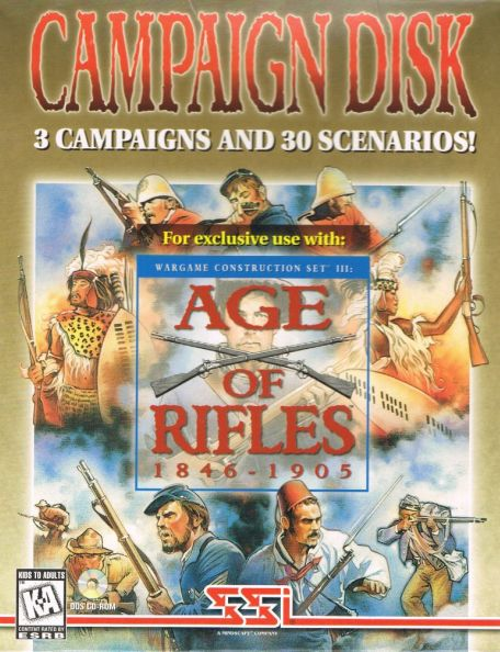 Wargame Construction Set III: Age of Rifles 1846-1905