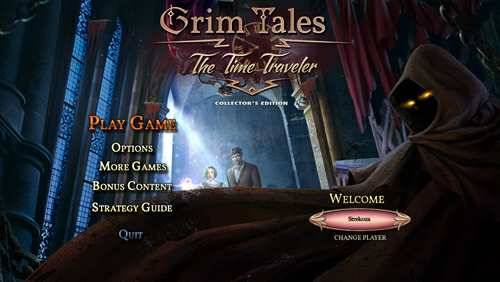Обложка Grim Tales 14: The Time Traveler Collector's Edition
