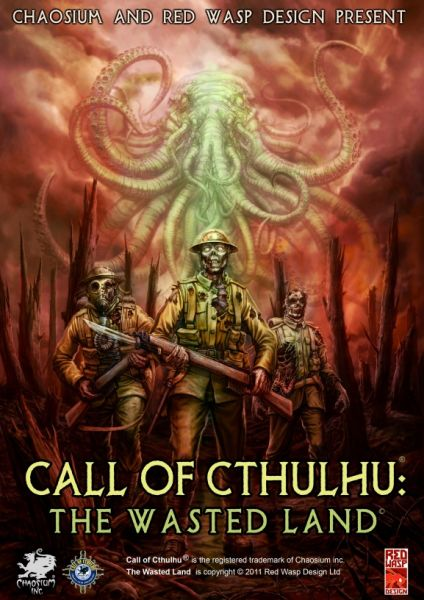 Обложка Call of Cthulhu: The Wasted Land