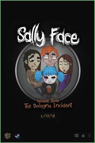 Обложка Sally Face. Episode 1-5