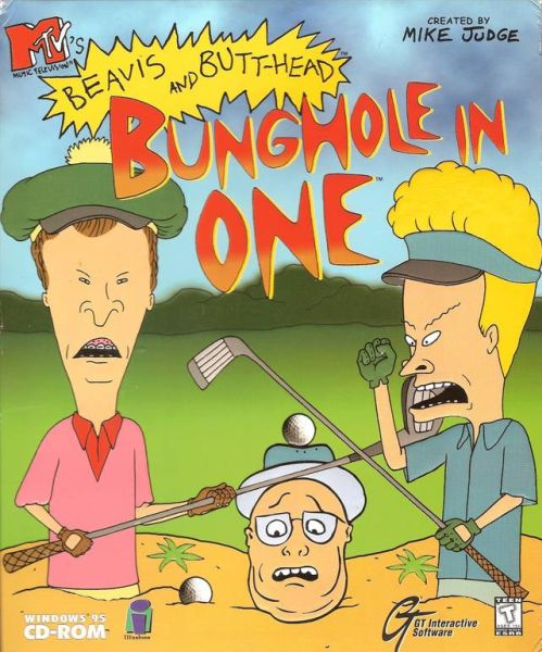 Обложка MTV's Beavis and Butt-Head: Bunghole in One