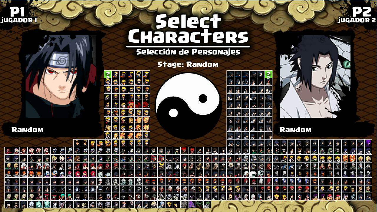 Скачать игру M U G E N  - Naruto Shippuden: Struggle Ninja