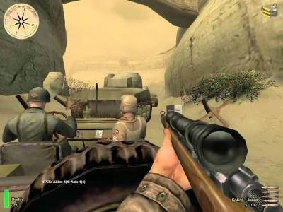 первый скриншот из Medal of Honor Allied Assault : Breakthrough