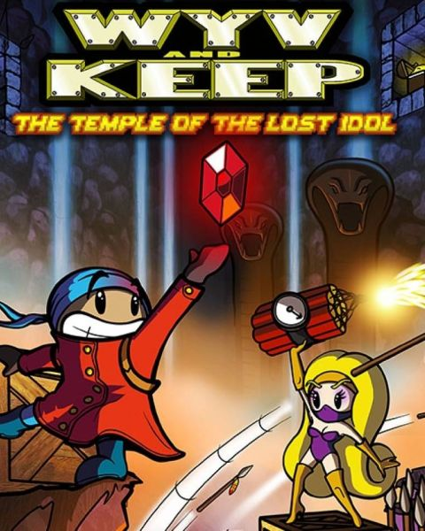 Обложка Wyv and Keep: The Temple of the Lost Idol