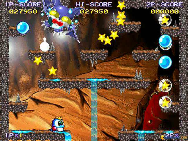 Bubble bobble hero 2 download (1999 arcade action game).