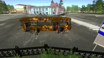 второй скриншот из Bus Driver Simulator 2018