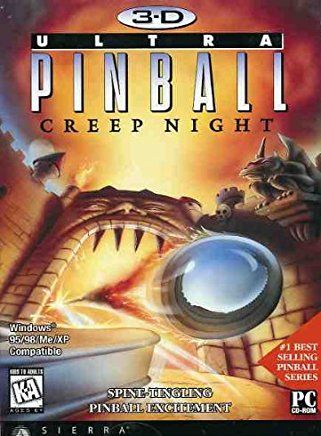 Обложка 3D Ultra Pinball: Creep Night